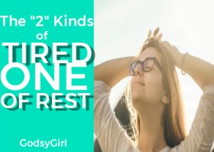 Dealing with Spiritual Fatigue Christian Woman