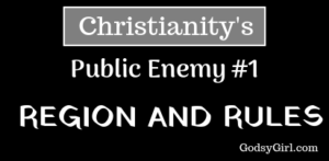 by grace alone - no rules or regulations for Christians