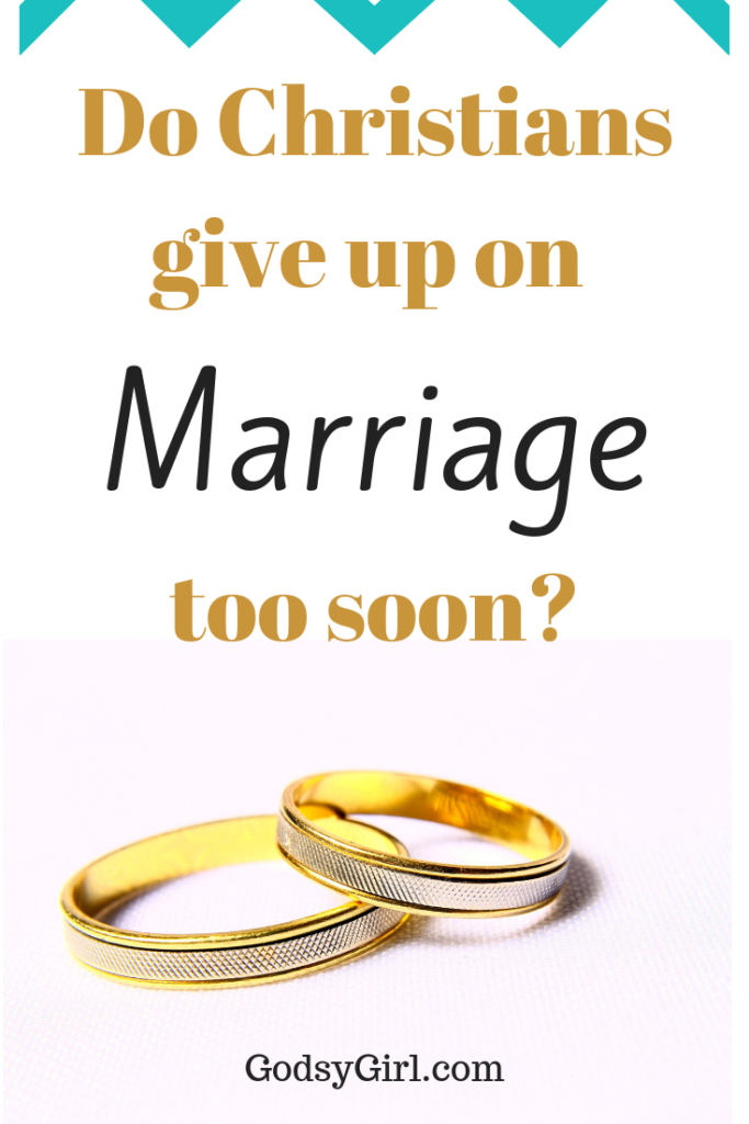 Divorce in Christian Marriages