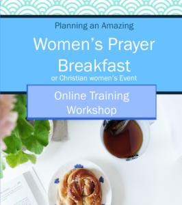 Planning a christian women's prayer breakfast