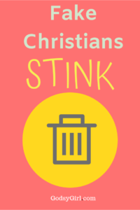 Don't be a fake Christian