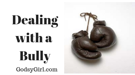 Handling a Christian Bully