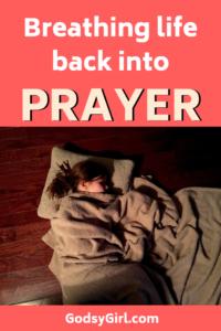 praying each day