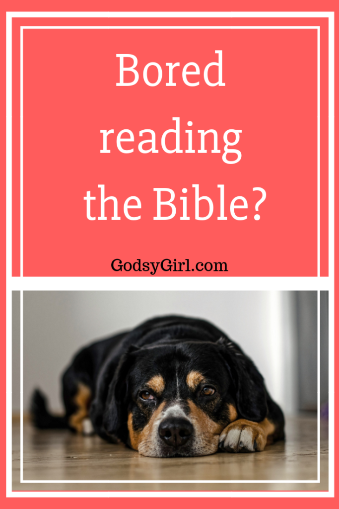 Don't get bored during Bible study!  Try this sample prayer before reading the Bible.