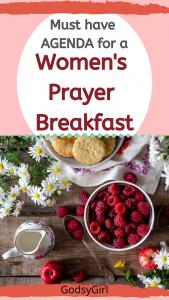 Women's Prayer Breakfast Agenda