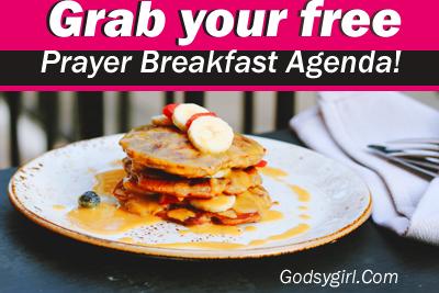 Prayer Breakfast Sample Agenda