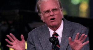 Billy Graham is with Jesus