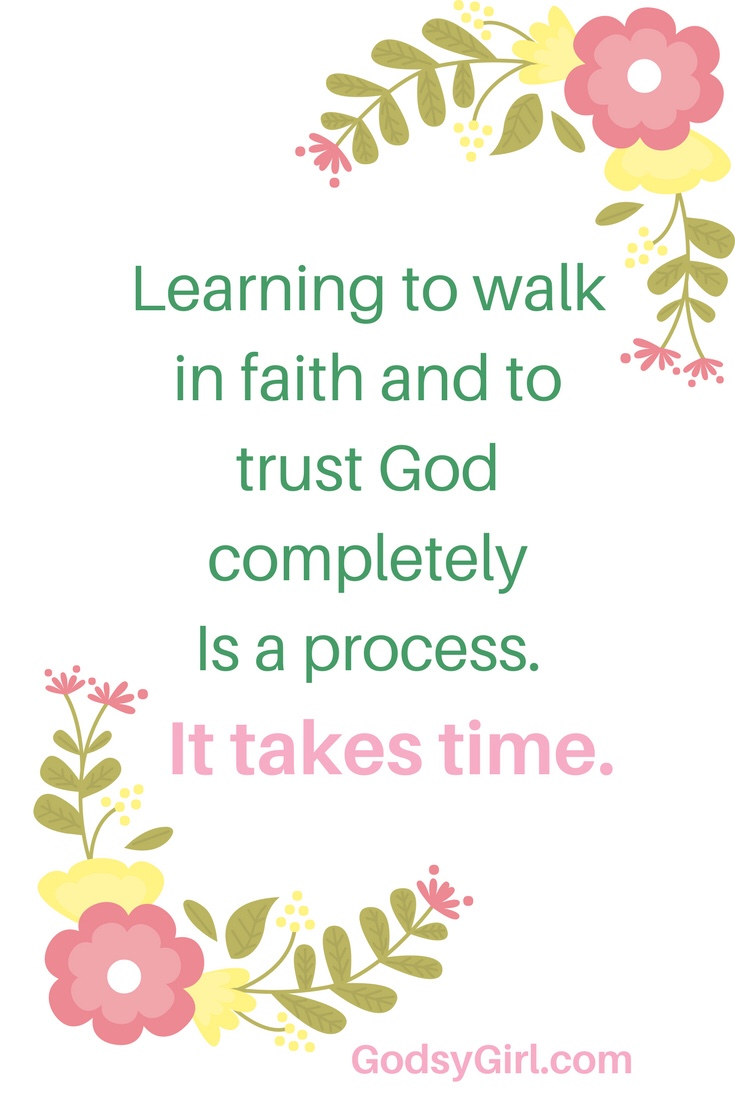 When your friend or loved one is having a hard time, it's difficult to keep the faith. A speedy resolution just may not be God's plan. Read some tips on trusting God completely.