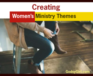 Creat the women's ministry themes