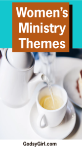 Planning women's ministry themes