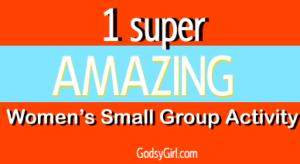 Women's group activity idea