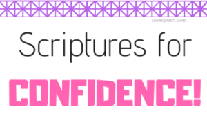 scriptures about confidence for christian women