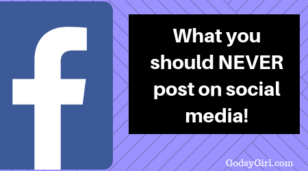 Things you should never post on social media and why