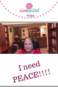 "Christian video on ""God, give me peace!"""
