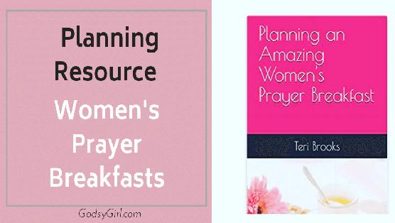 Planning Prayer Breakfast