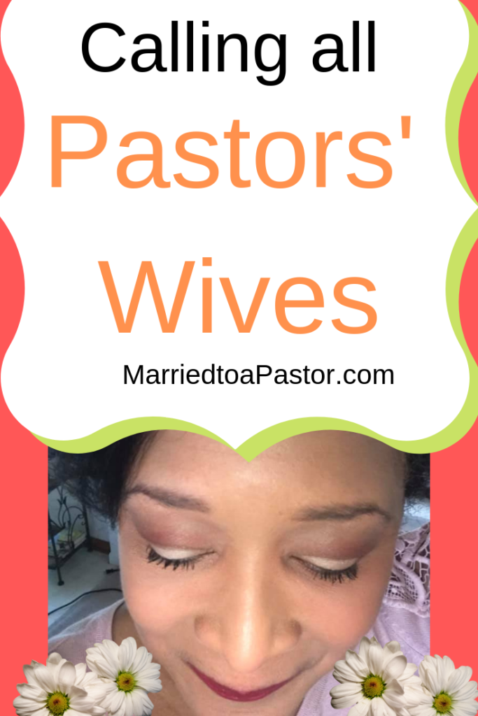 Calling all Pastors Wives and church first ladies: Visit www. MarriedtoaPastor.com