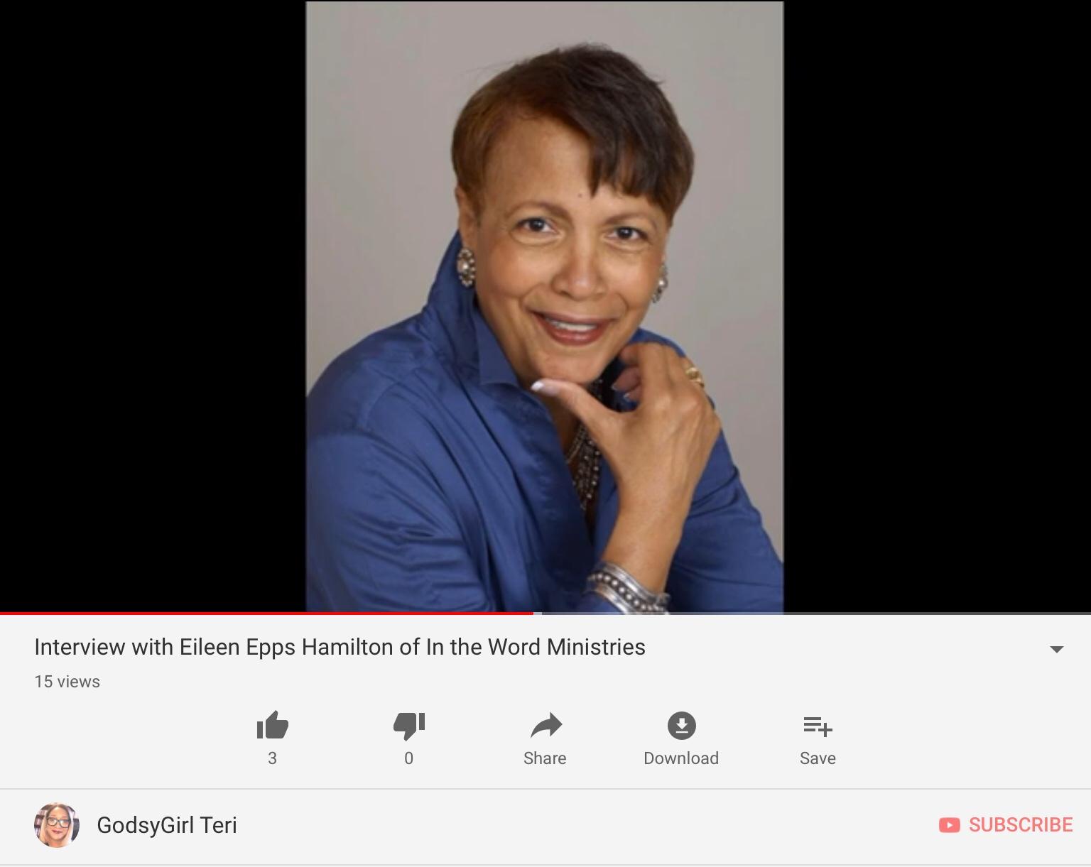 Eileen Epps Hamilton - Wisdom for Women