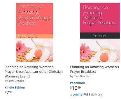 Planning a womens prayer breakfast