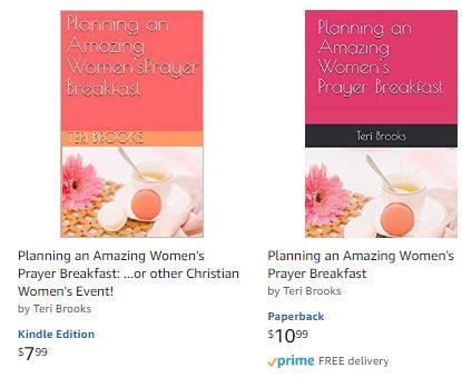Planning a women's prayer breakfast