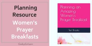 How to Plan a Prayer Breakfast for Christian Women
