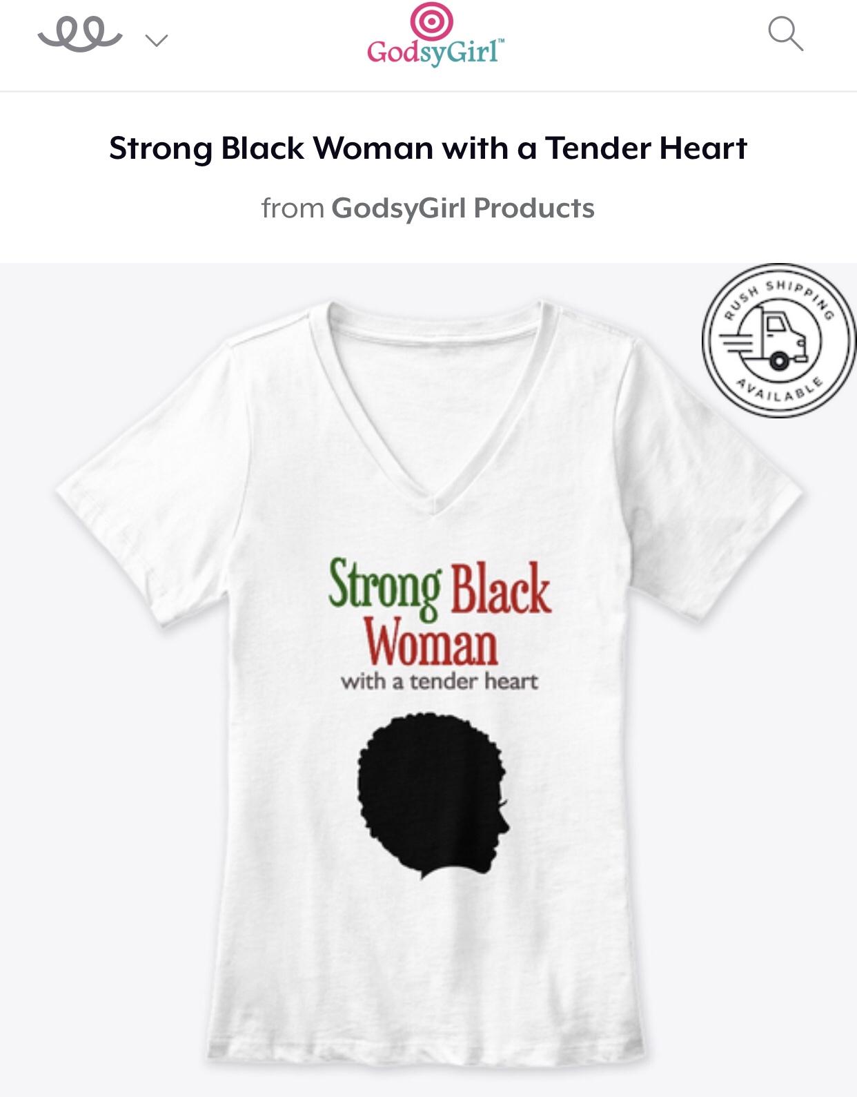 Strong Black Christian Woman