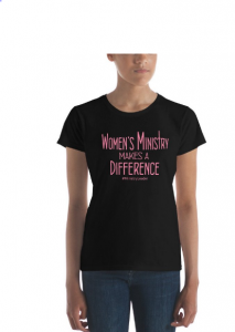women's ministry leader tshirt