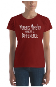 women's ministry t-shirts
