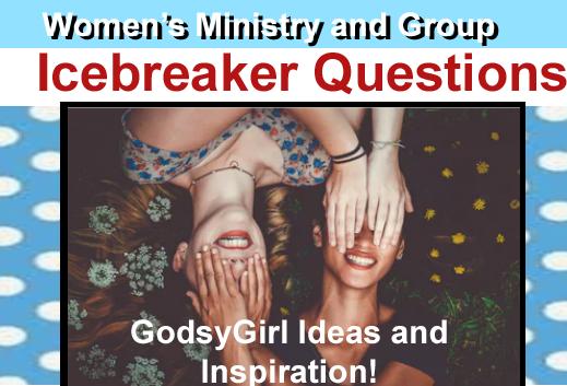 women's ministry icebreakers