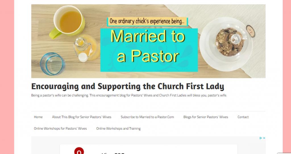 pastors wives blog