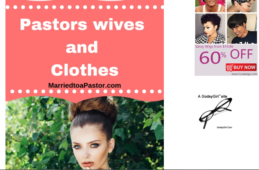 pastors wives living in the fishbowl
