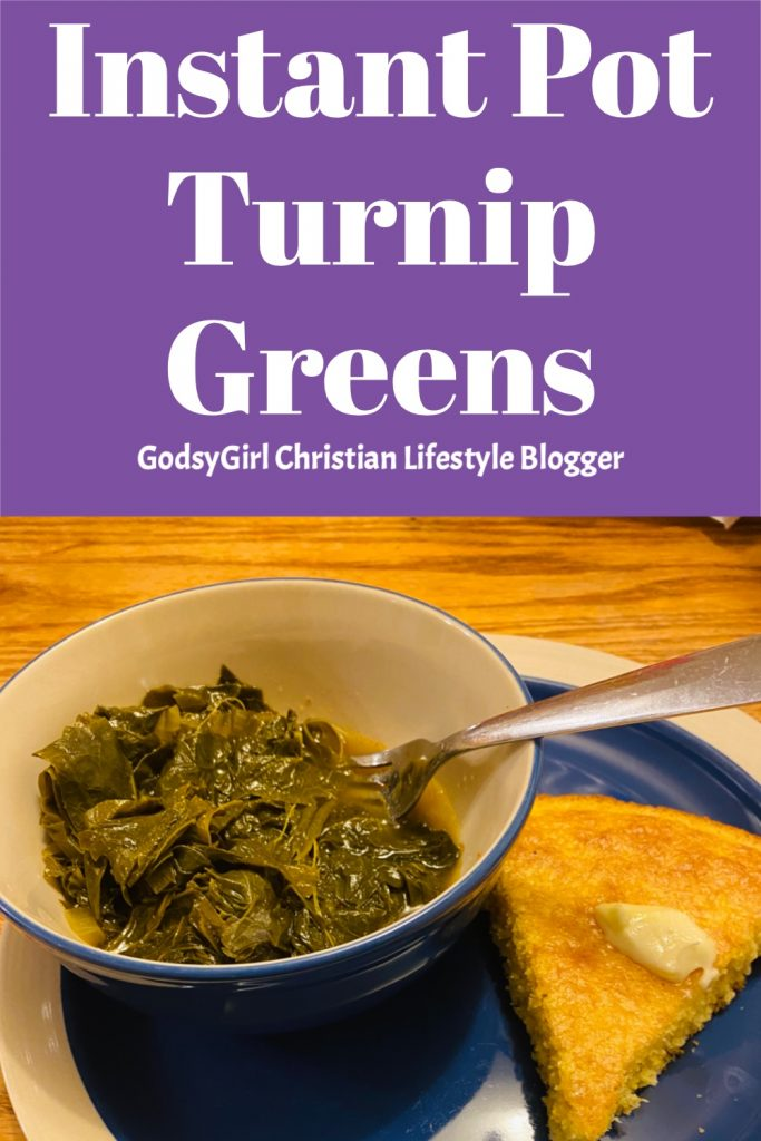 How to cook turnip greens in Instant Pot